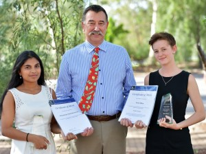 Joint winners, Rotary English Award 2013 Meirs and Seshakumaran_SponsorLindsay