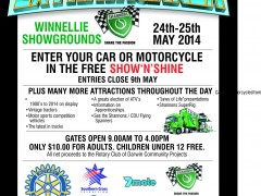 Shannons Insurance Motoring Extravaganza 24-25th May